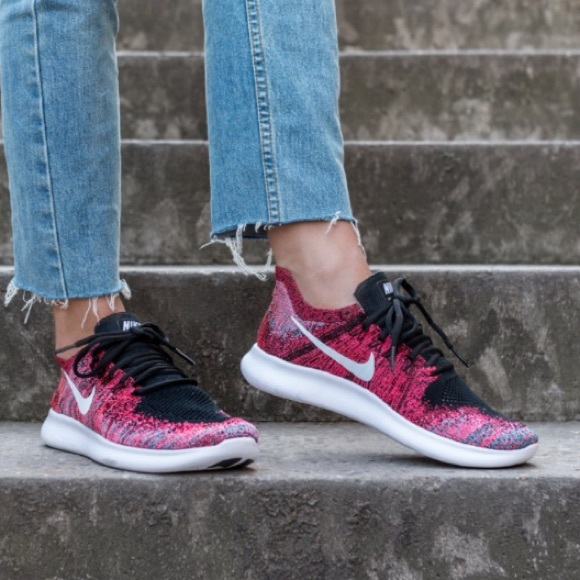 cheap for discount d5ced 6dfae WOMEN'S NIKE FREE RN FLYKNIT 2017 size 9.5